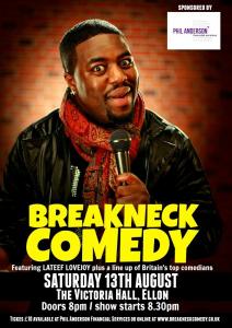 Breackneck Comedy Poster