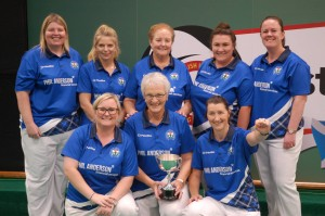 Scottish Indoor Bowling Ladies Test Team 2017